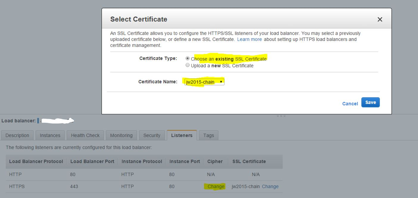 Aws Add Wildcard Ssl Certificate To Elb Cloudingnow